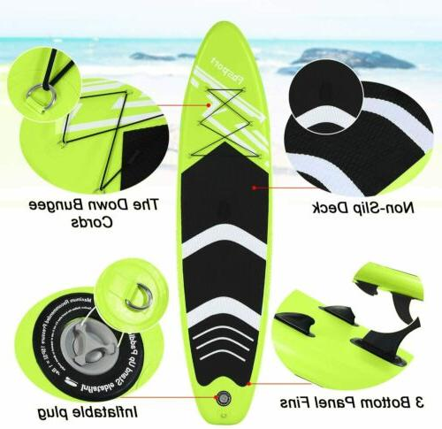 Inflatable Board 10'x30''x6'' Paddleboard Accessories
