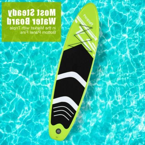 Inflatable Board 10'x30''x6'' Accessories