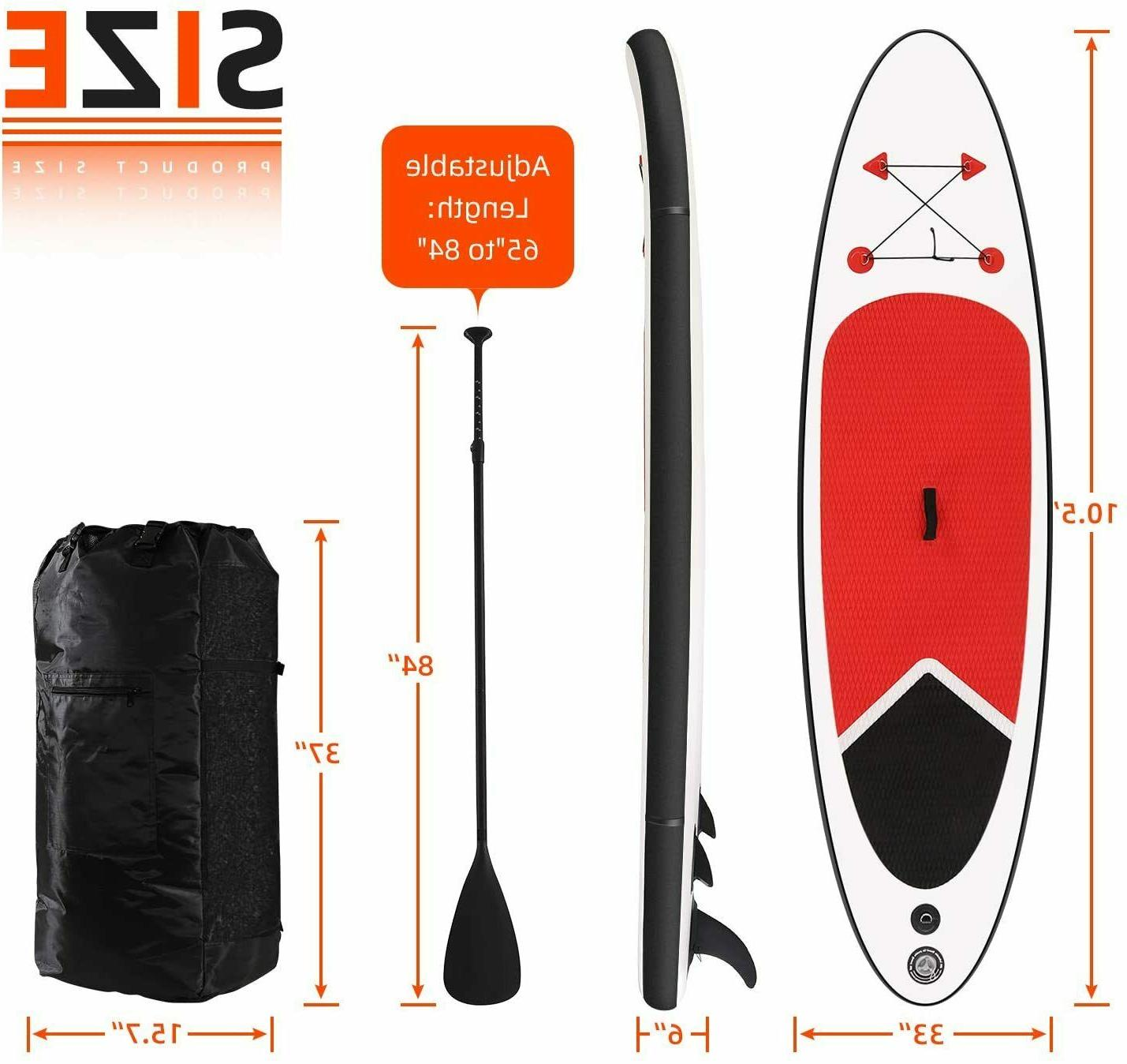 Inflatable SUP with & Carry