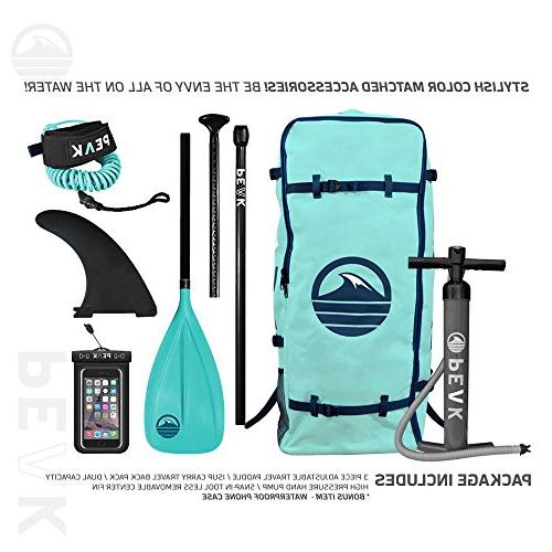 Peak Stand Up Paddle Complete Package Includes Paddle, Leash