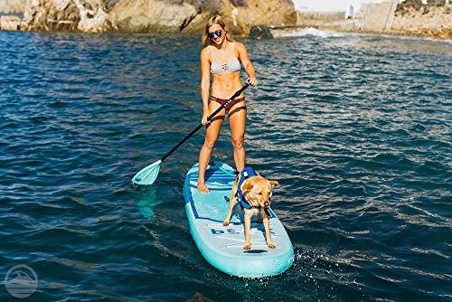 Peak Inflatable 10'6 Stand Up Package Includes Paddle, Backpack, Coil Leash