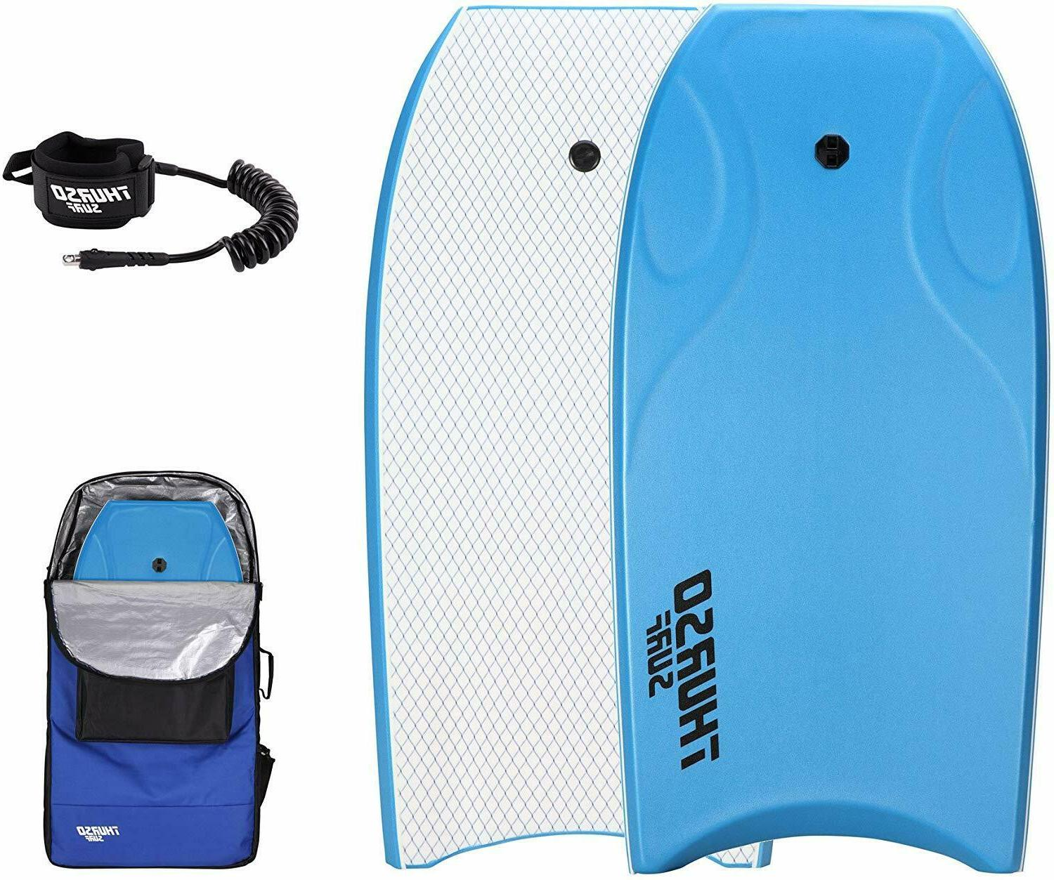 lightning 42 bodyboard package leash and lux
