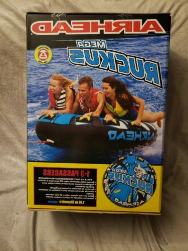 Airhead Mega Ruckus Person Blue Tube Water Activities