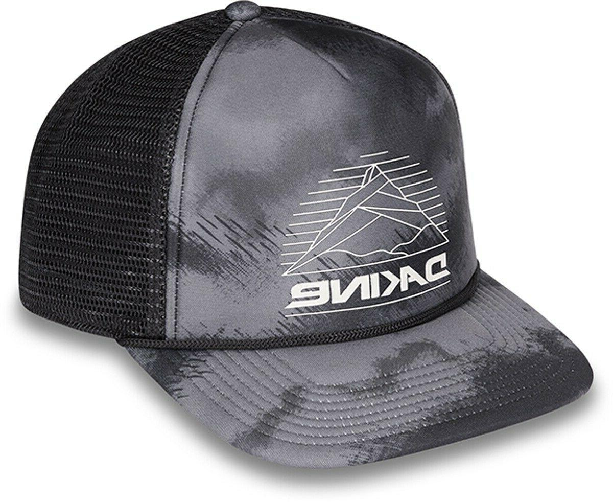 mountain lines trucker hat curved brim snapback