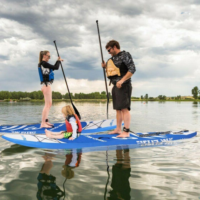 NEW Inflatable Up Paddle Non-Slip Complete Kit