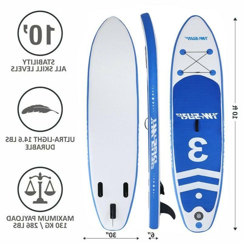 new 10 inflatable stand up paddle board
