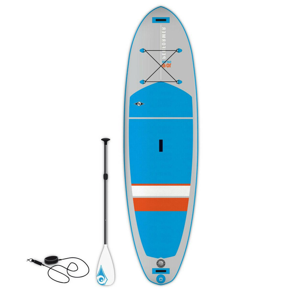 s inflatable performer air standup paddleboard