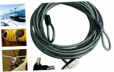 seattle sports cradle cable lock for kayaks