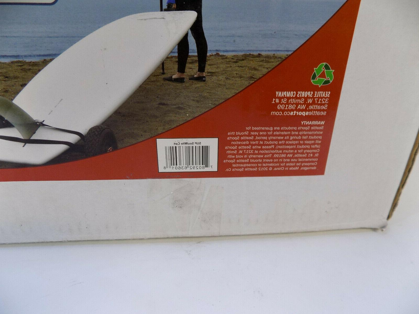SEATTLE SUP PADDLEBOARD CART SOULMITE