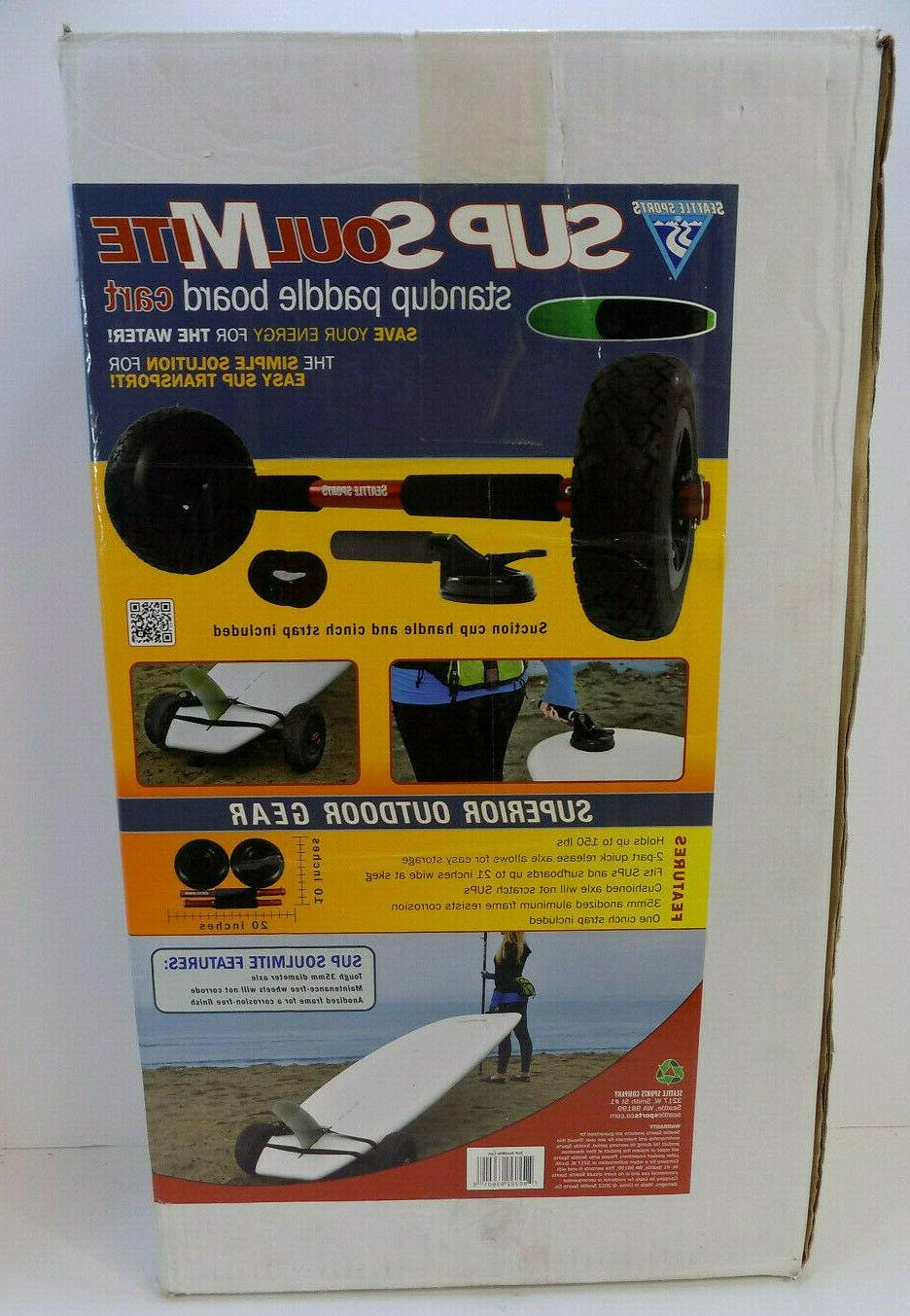 sup paddleboard cart carrier brand new soulmite