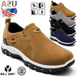 Men's Slip On Sports Outdoor Sneakers Running Walking Hiking