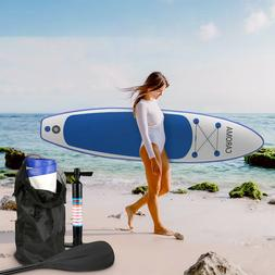 NEW 11ft Inflatable SUP Paddle Board Stand Up Surfboard Surf