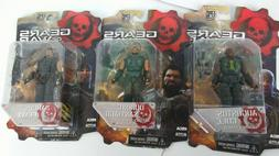NEW NECA GEAR OF WARS  LOT OF 3 EPIC GAMES 3 3/4 INCHES ACTI