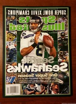 NEW! Sports Illustrated Seattle Seahawks Commemorative Super