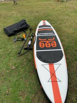 Funwater paddle board inflatable 11x33x6 Outdoors Sports Oce