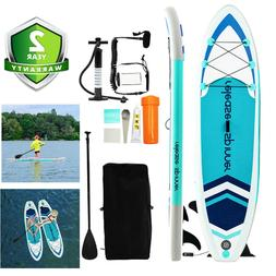 Premium 10FT Hydro-Force Inflatable Stand Up Paddle Board SU