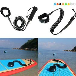 Abahub Premium Coiled Sup Leash, Stand-Up Paddleboard Legrop