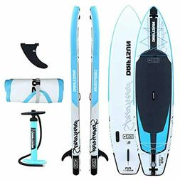 spearhead rigid stand up inflatable paddleboard 11ft